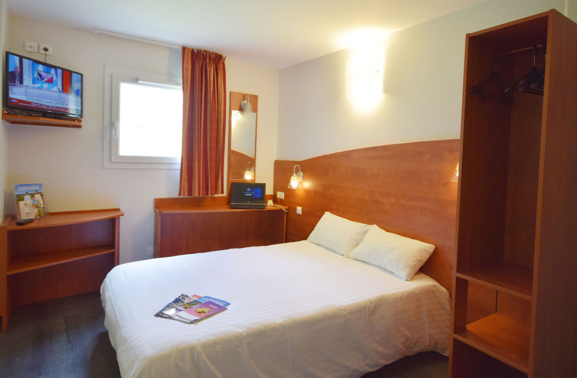 Best Hotel Reims La Pompelle - Chambre double